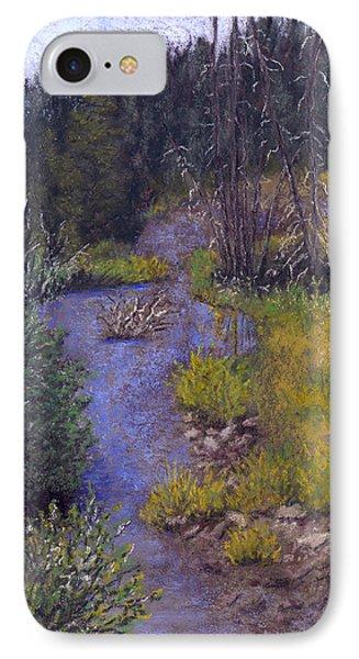 Quiet Creek Phone Case by Ginny Neece