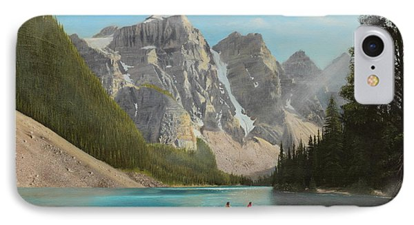 Quiet Day IPhone Case by Glenn Beasley