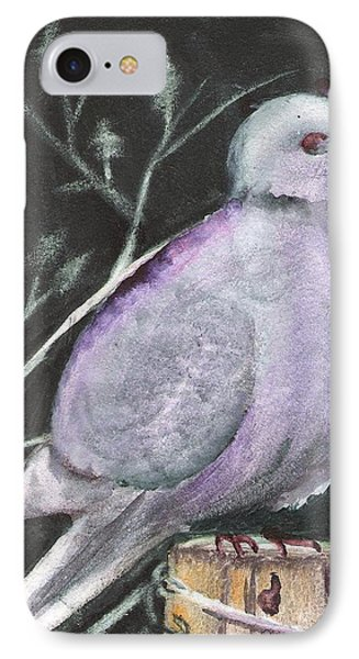 Quiet Dove IPhone Case