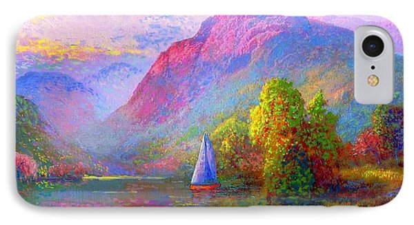 Sailing Into A Quiet Haven IPhone Case