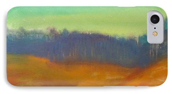 IPhone Case featuring the painting Quiet by Keith Thue