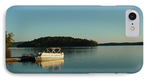 IPhone Case featuring the photograph Quiet Lake by Dorothy Maier