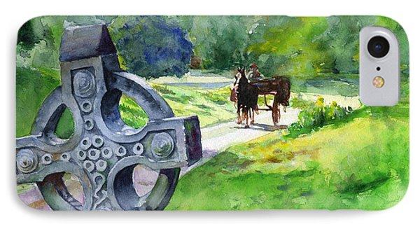 Quiet Man Watercolor 2 IPhone Case
