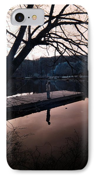 IPhone Case featuring the photograph Quiet Moments Reflecting by Rebecca Parker