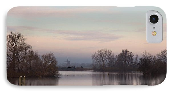 IPhone Case featuring the photograph Quiet Morning by Annie Snel