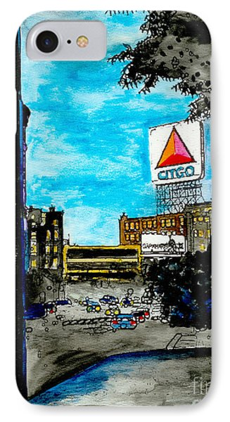 Quiet Night Outside Of Fenway IPhone Case by Rob Monte