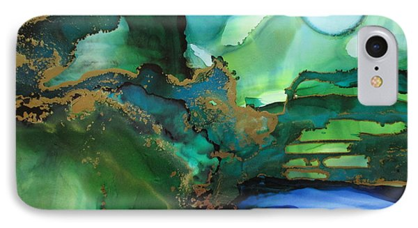 Quiet Pond IPhone Case by Kathy Sheeran