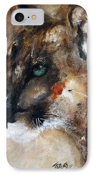 IPhone Case featuring the painting Quiet Thunder Seeker by Barbie Batson