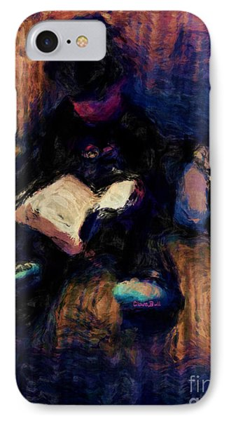 Quiet Time IPhone Case by Claire Bull