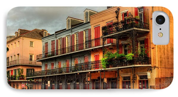 Quiet Time On Decatur Street IPhone Case by Chrystal Mimbs