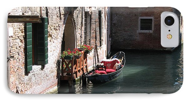IPhone Case featuring the photograph Quiet Venice Parking Place by Michael Helfen