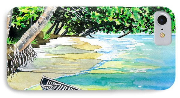 Quiet Waters In Paradise IPhone Case