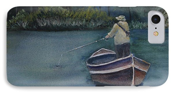IPhone Case featuring the painting Quietude by Jan Cipolla