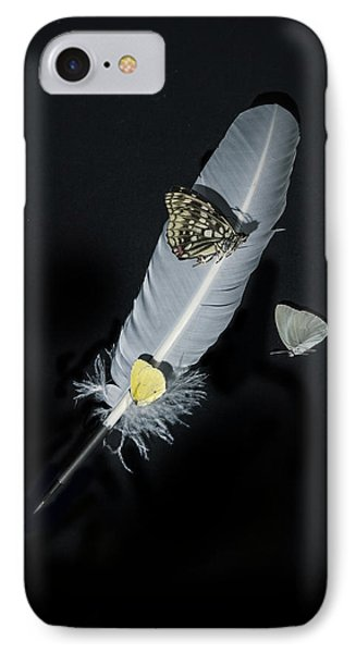 Quill With Butterflies Phone Case by Joana Kruse