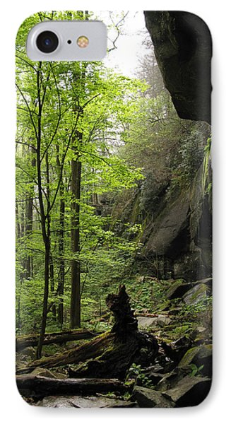 Quilliams Cave IPhone Case by Melinda Fawver