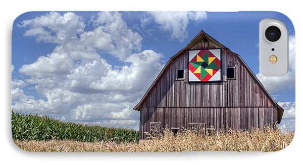 Quilt Barn - Double Windmill IPhone Case