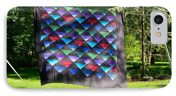 Quilt Top In The Breeze IPhone Case