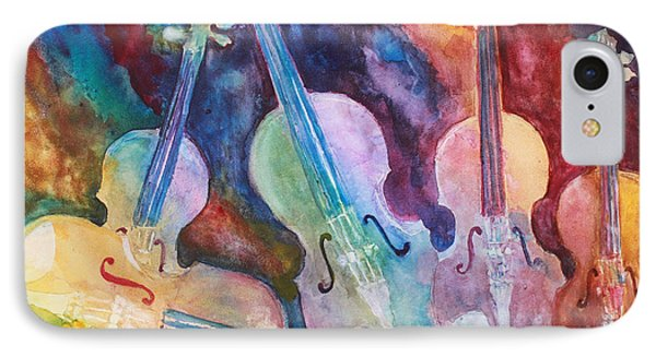 Quintet In Color Phone Case by Jenny Armitage