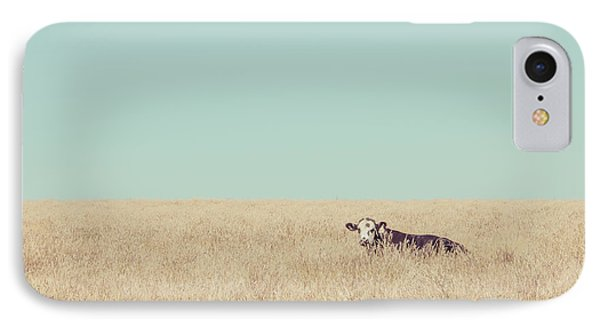 Quite Happy Where She Was IPhone Case by Takeshi Okada