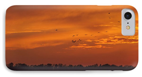 IPhone Case featuring the photograph Quivira Sunset 1 by Rob Graham
