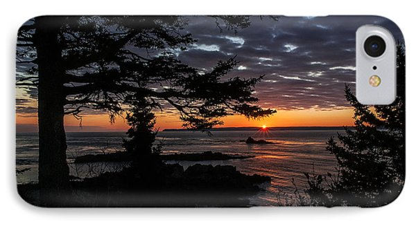 Quoddy Sunrise IPhone Case by Marty Saccone