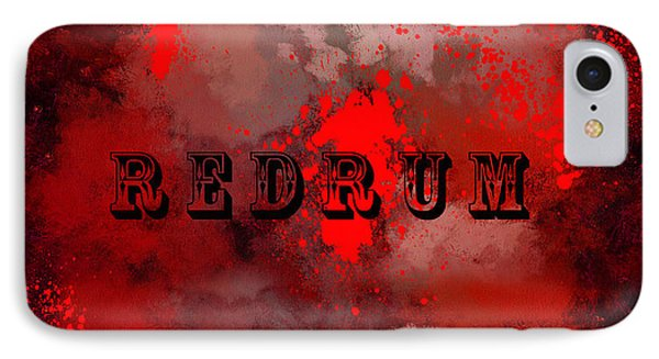 R E D R U M - Featured In Visions Of The Night Group IPhone Case