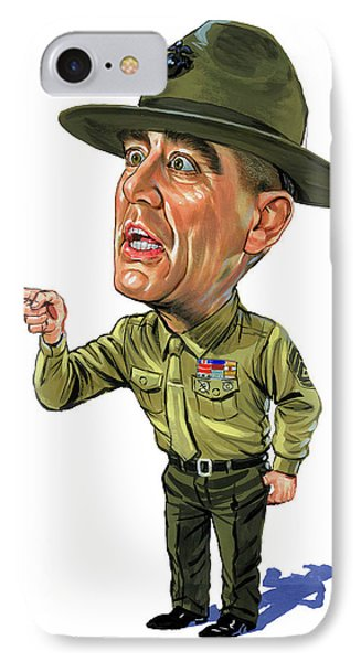 R. Lee Ermey As Gunnery Sergeant Hartman IPhone Case