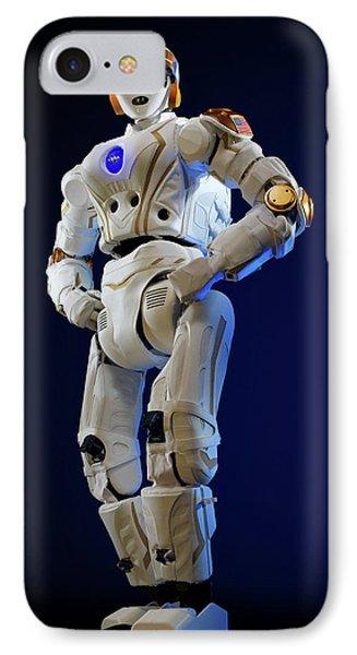R5 Humanoid Robot IPhone Case by Nasa