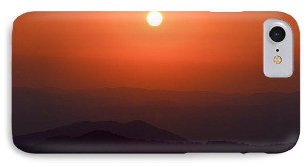 Ra Over Appalachia 3 IPhone Case by Ryan Phillips