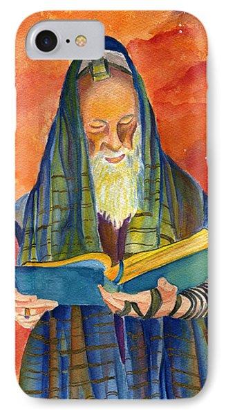 Rabbi I IPhone Case by Dawnstarstudios