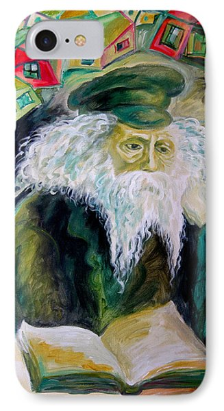 Rabbi Yosef Rosen The Rogatchover Gaon Phone Case by  Leon Zernitsky