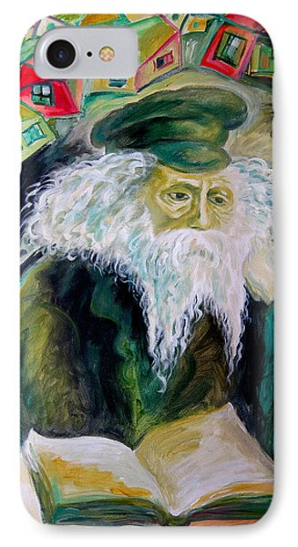 Rabbi Yosef Rosen The Rogatchover Gaon IPhone Case by  Leon Zernitsky