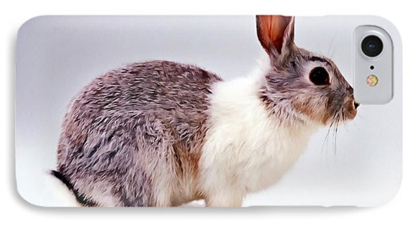 Rabbit  3 Phone Case by Lanjee Chee
