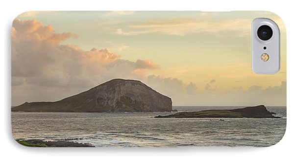 Rabbit And Turtle Island At Sunrise 1 IPhone Case by Leigh Anne Meeks