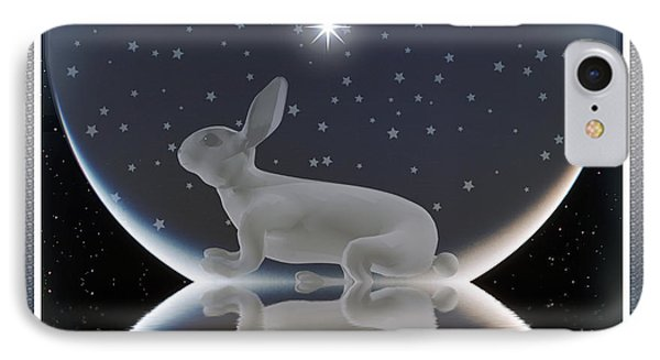 Rabbit IPhone Case by Harald Dastis
