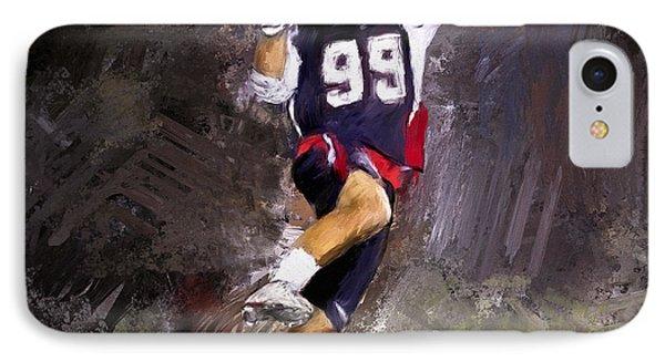 Rabil Lacrosse IPhone Case by Scott Melby