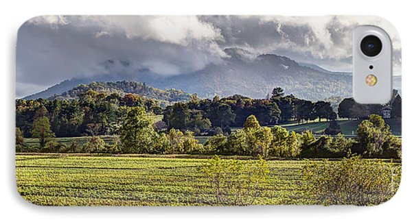Rabun Gap Valley Pano IPhone Case
