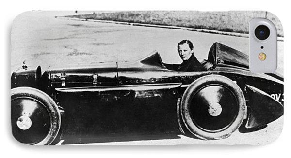 Race Car Driver Gwenda Stewart IPhone Case by Underwood Archives