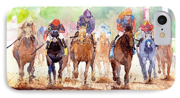 Race Day IPhone Case by Max Good