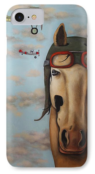 Race Horse IPhone Case by Leah Saulnier The Painting Maniac