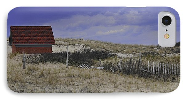Race Point Light Shed Phone Case by Catherine Reusch Daley