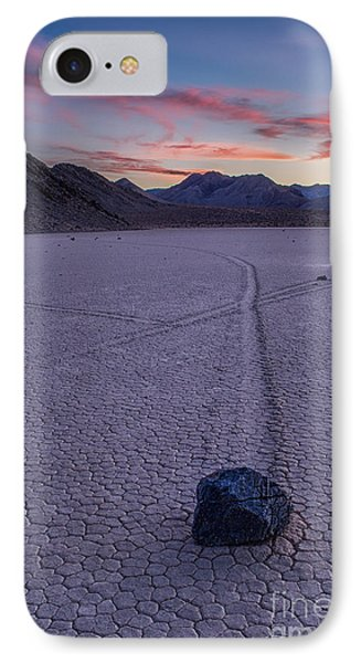 Race Track Death Valley Phone Case by Jerry Fornarotto