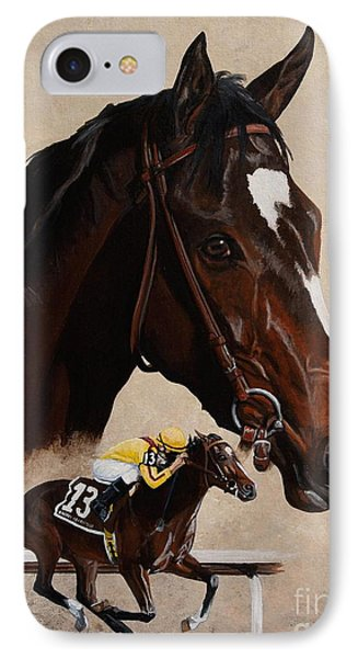Rachel Alexandra IPhone Case