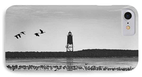 IPhone 7 Case featuring the photograph Racine Lakefront by Ricky L Jones