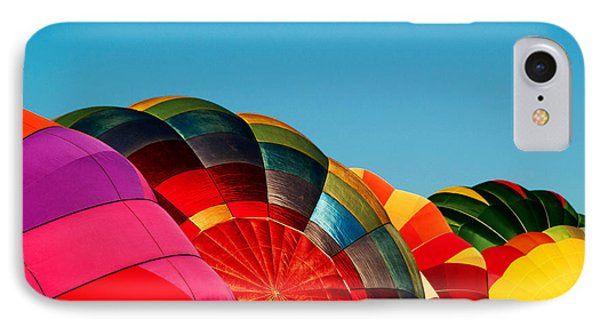 Racing Balloons Phone Case by Bill Gallagher