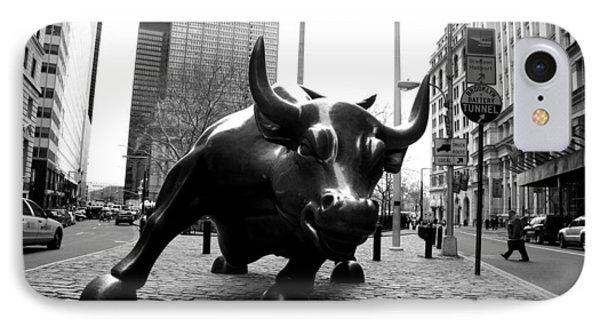 Raging Bull Phone Case by Gilberto Gutierrez