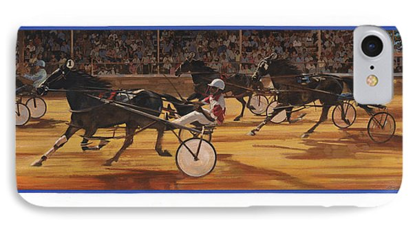 Racing Pacers And Carts IPhone Case by Don  Langeneckert