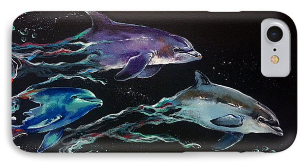 Racing The Waves Phone Case by Marco Antonio Aguilar