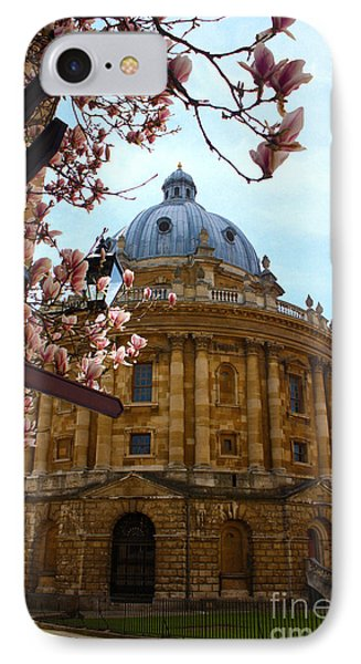Radcliffe Camera Bodleian Library Oxford  IPhone Case by Terri Waters