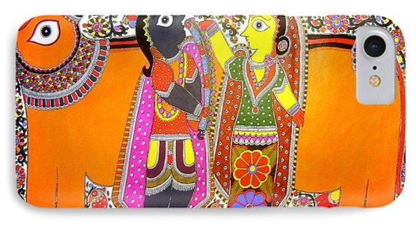 Radha And Krishna IPhone Case